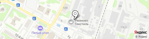 Вира на карте Иваново