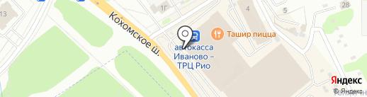 Гобелен плюс на карте Иваново