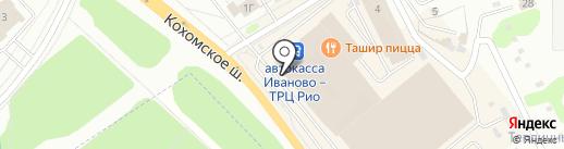 Салон штор на карте Иваново