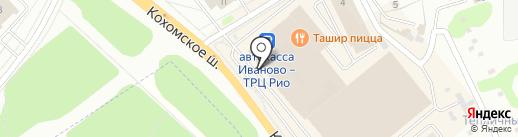 Трикотажница на карте Иваново