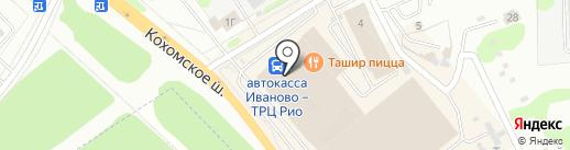 Зазнайка на карте Иваново