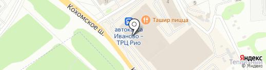 Банкомат, Промсвязьбанк, ПАО на карте Иваново