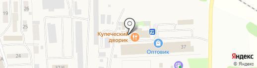 Купеческий дворик на карте Фанерника