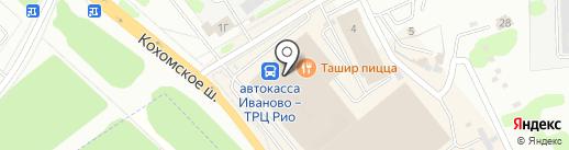 Нагатекс на карте Иваново