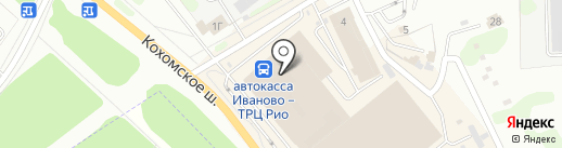 Банкомат, КБ Юниаструм банк на карте Иваново