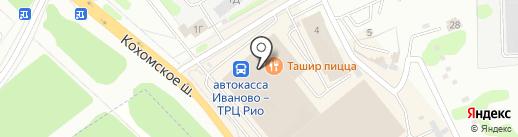 Домашний текстиль на карте Иваново