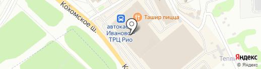 Благовест на карте Иваново