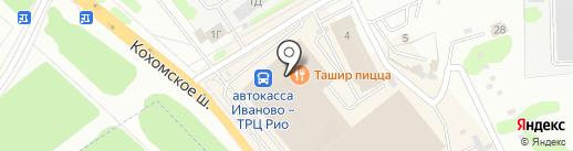 Фабрика костюма на карте Иваново