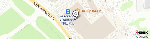 DM текстиль на карте Иваново