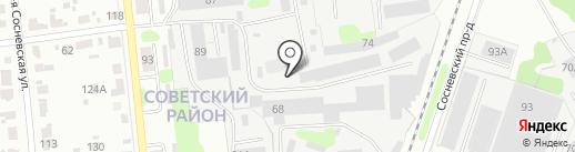 Славмаркет на карте Иваново