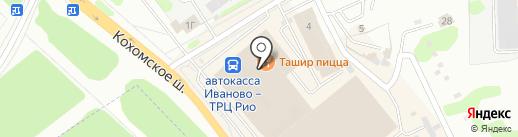 Ташир пицца на карте Иваново
