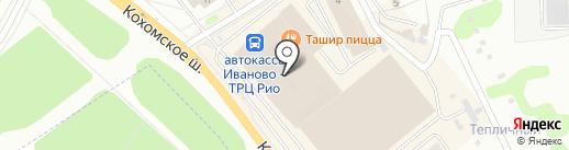Алина на карте Иваново