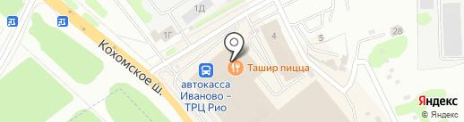 ИвРосТекстиль на карте Иваново