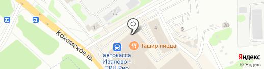 Milan на карте Иваново