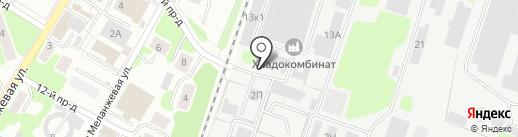Фаворит-Текстиль на карте Иваново