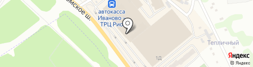 Авангард на карте Иваново
