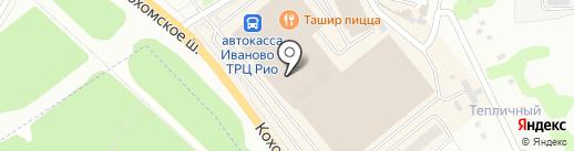 Магазин игрушек для детей на карте Иваново