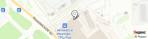Мир джинсов на карте Иваново