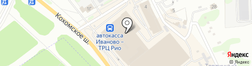 Магазин чая и кофе на карте Иваново