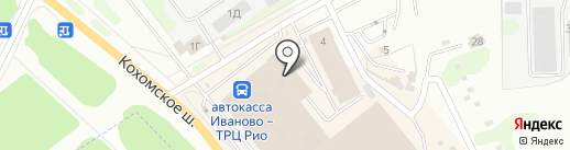 Лисичка на карте Иваново