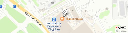 Сапфир на карте Иваново