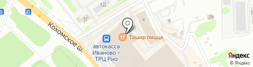 Магазин товаров для новорожденных на карте Иваново