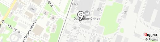 МОЛСЕРВИС, ЗАО на карте Иваново