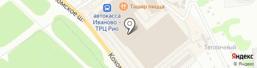 Vivida на карте Иваново