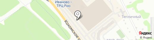 Antiga на карте Иваново