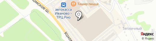 О`лена на карте Иваново