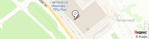 Иван да Марья на карте Иваново