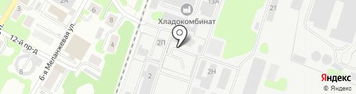 Мегаполюс на карте Иваново