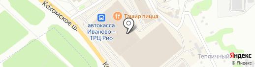 Меркурий на карте Иваново