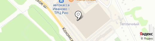 Тим-текс на карте Иваново