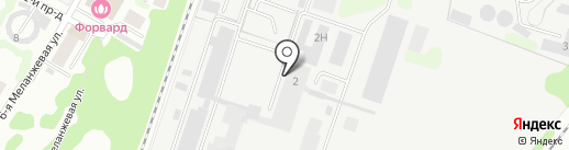 Phantom Paintball Club на карте Иваново