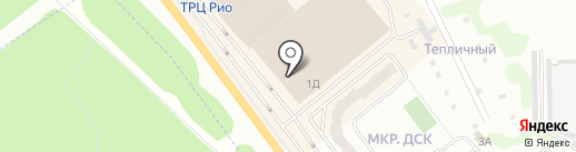 Айвенго на карте Иваново