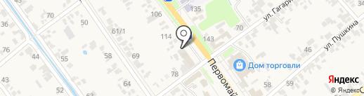 Сонет на карте Новокубанска