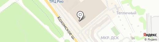Милана на карте Иваново