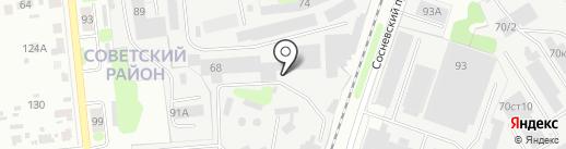 Востокхимволокно на карте Иваново