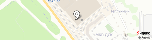 Койот на карте Иваново