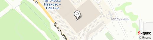 Евгения на карте Иваново