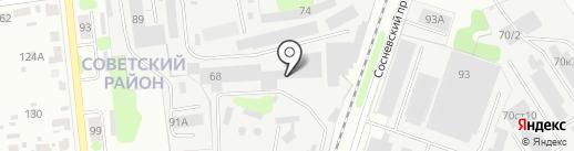 Авира на карте Иваново