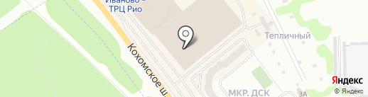 Мэтр на карте Иваново