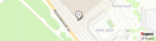 Сафо на карте Иваново