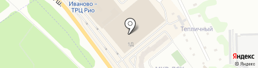 Росси на карте Иваново