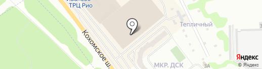 Тритекс на карте Иваново