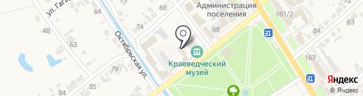 Элекснет на карте Новокубанска