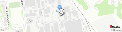 Русский Арболит на карте Иваново