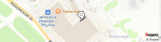 Супер-пупс на карте Иваново