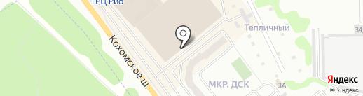 Кетлен на карте Иваново